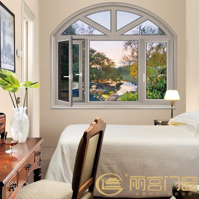 铝合金门窗,断桥铝平开窗,平开窗,铝合金平开窗